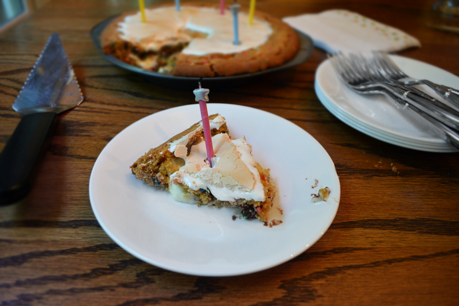 Birthday Cake S'mores Pie
