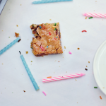 Funfetti Chocolate Chip Peanut Butter Cookie Bars