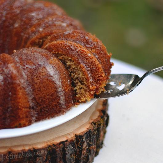 Brown Butter Apple Cider Cake