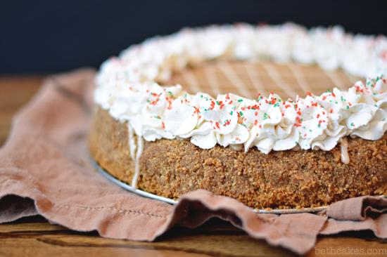 Bourbon Gingerbread Cheesecake - bethcakes.com