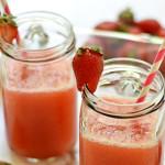 Malibu Strawberry Daiquiris