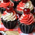 Bourbon Black Forest Cupcakes