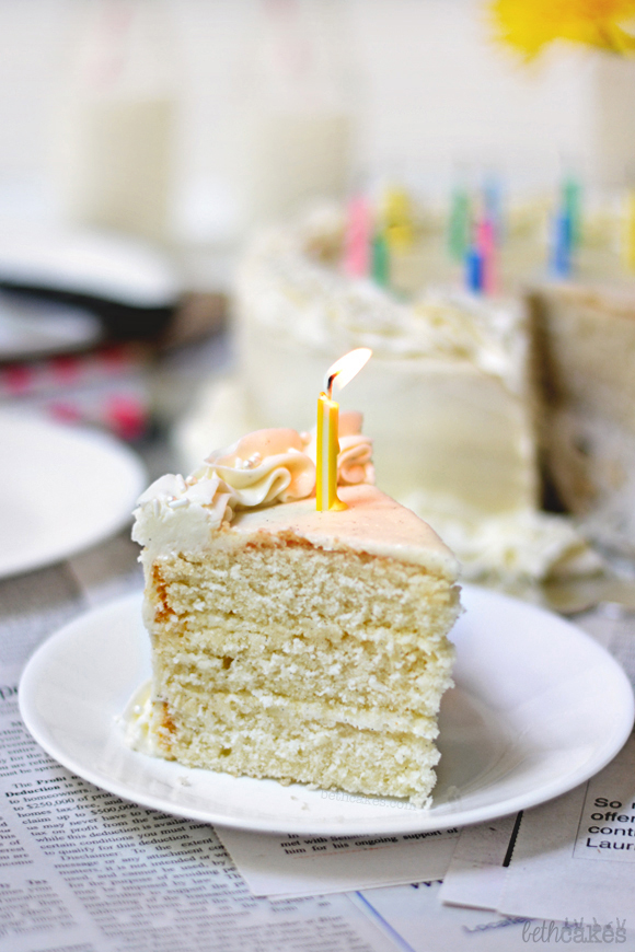 Bourbon Vanilla Bean Cake - bethcakes.com