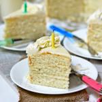 Bourbon Vanilla Bean Cake + bethcakes birthday!