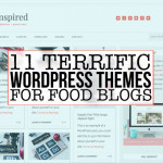 11 Terrific WordPress Themes for Food Bloggers