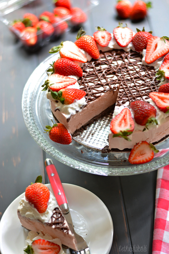 no bake strawberry cheesecake ingredients no bake chocolate crust ...