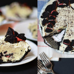 No Bake Strawberries n' Cream Oreo Pie