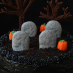 Black Magic Cemetery Cake