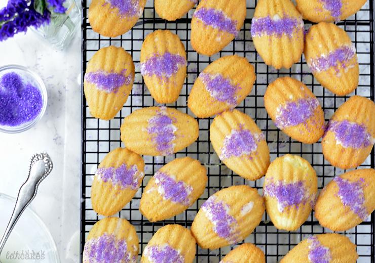 Lavender Madeleines