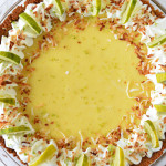 Toasted Coconut Key Lime Pie