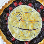 Death Star Pie (Blackberry, Cherry, Vanilla Bean Pie)