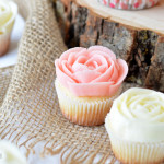 rose cupcakes feat