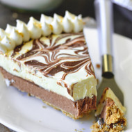 No-Bake S'mores Nutella Pie