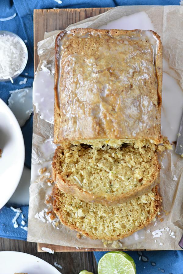 Coconut Lime Zucchini Bread [Guest Post]