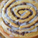 Apple Butter Cinnamon Roll Cake