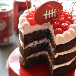 Chocolate Cherry Dr Pepper Cake