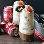 Dr Pepper Ice Cream Floats