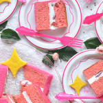 Sparkly Heart Emoji Cake