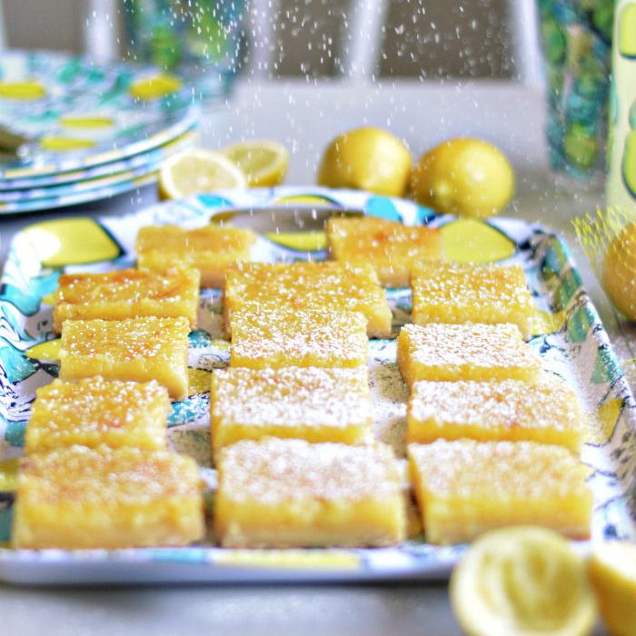 The Best Lemon Bars!