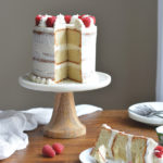 Vanilla Bean Cake with Vanilla Bean Frosting