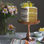 Lemon Layer Cake + An Easy Baby Shower Cake