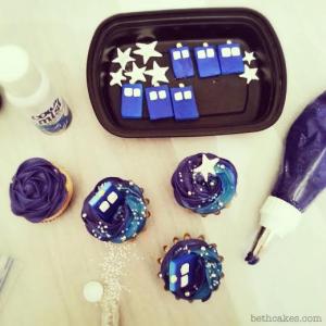 Doctor Who Cupcakes - bethcakes.com