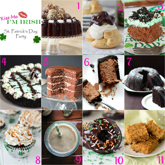 St. Patrick's Day blog party! #KissMeImIrish