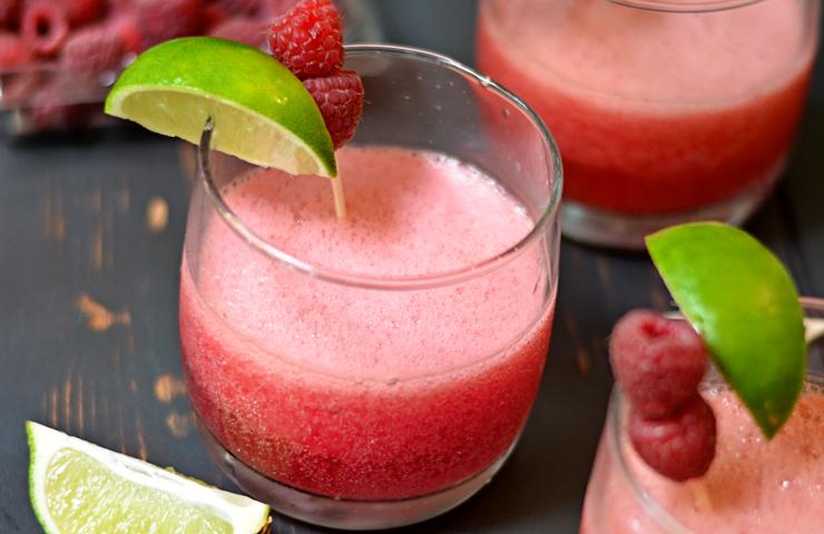 Raspberry Beergaritas