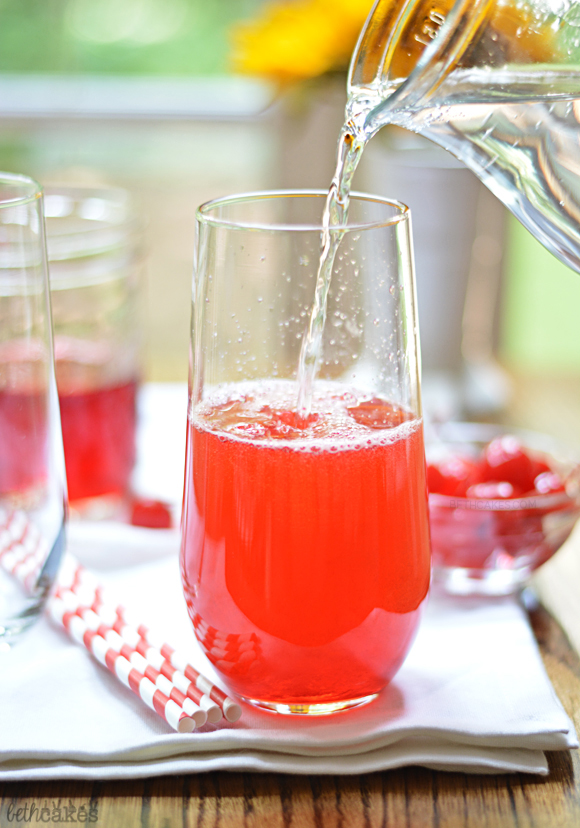 Bourbon Cherry Sodas! bethcakes.com