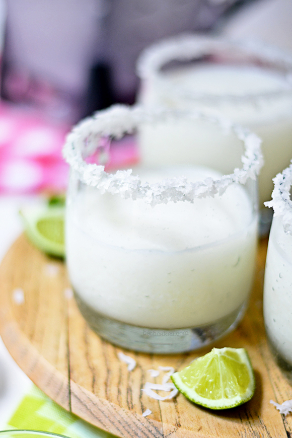 Coconut Margaritas! bethcakes.com