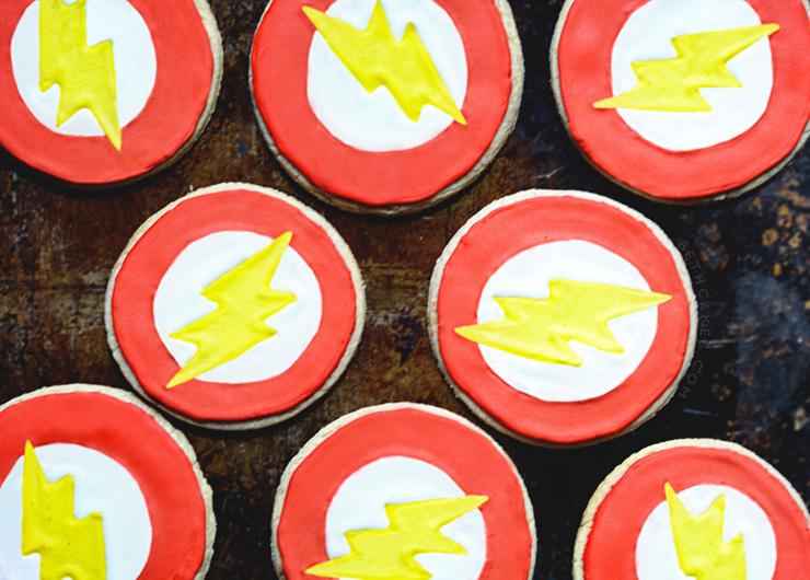 Cinnamon Sugar Cookies // The Flash Cookies