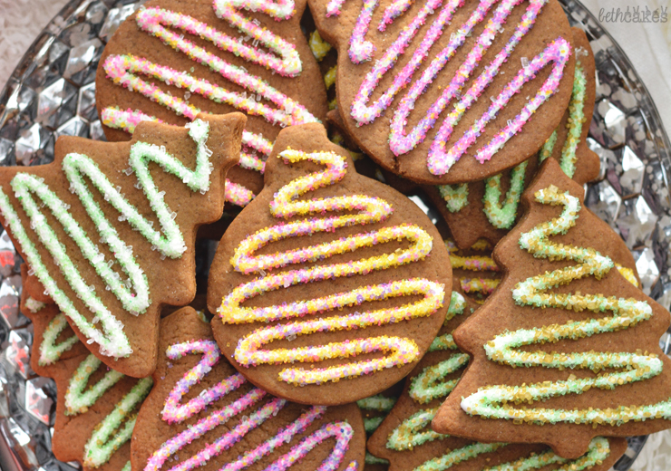 Brown Butter Maple Gingerbread Cookies