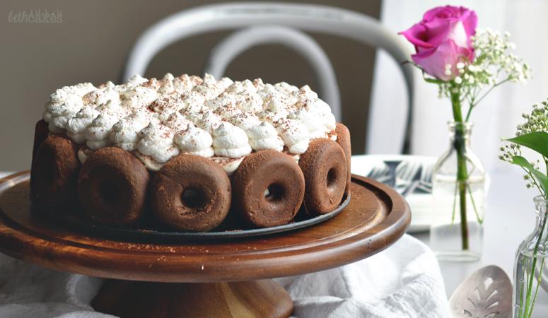 Mocha Doughnut Tiramisu