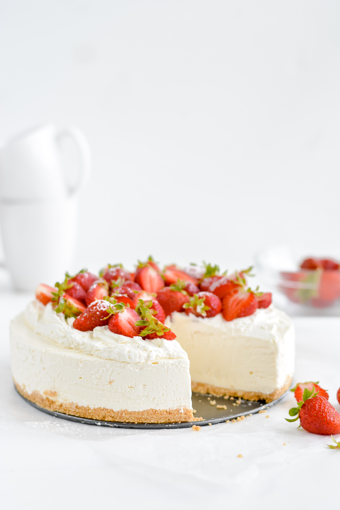 classic no-bake cheesecake