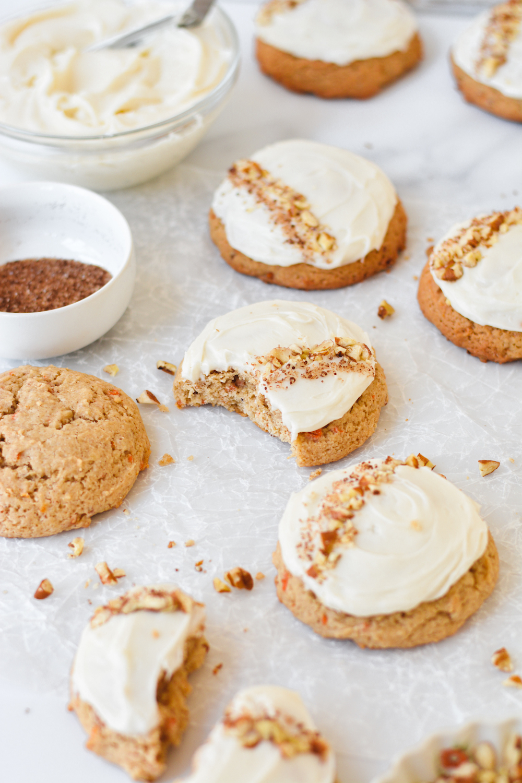 carrot cake cookies - bethcakes.com