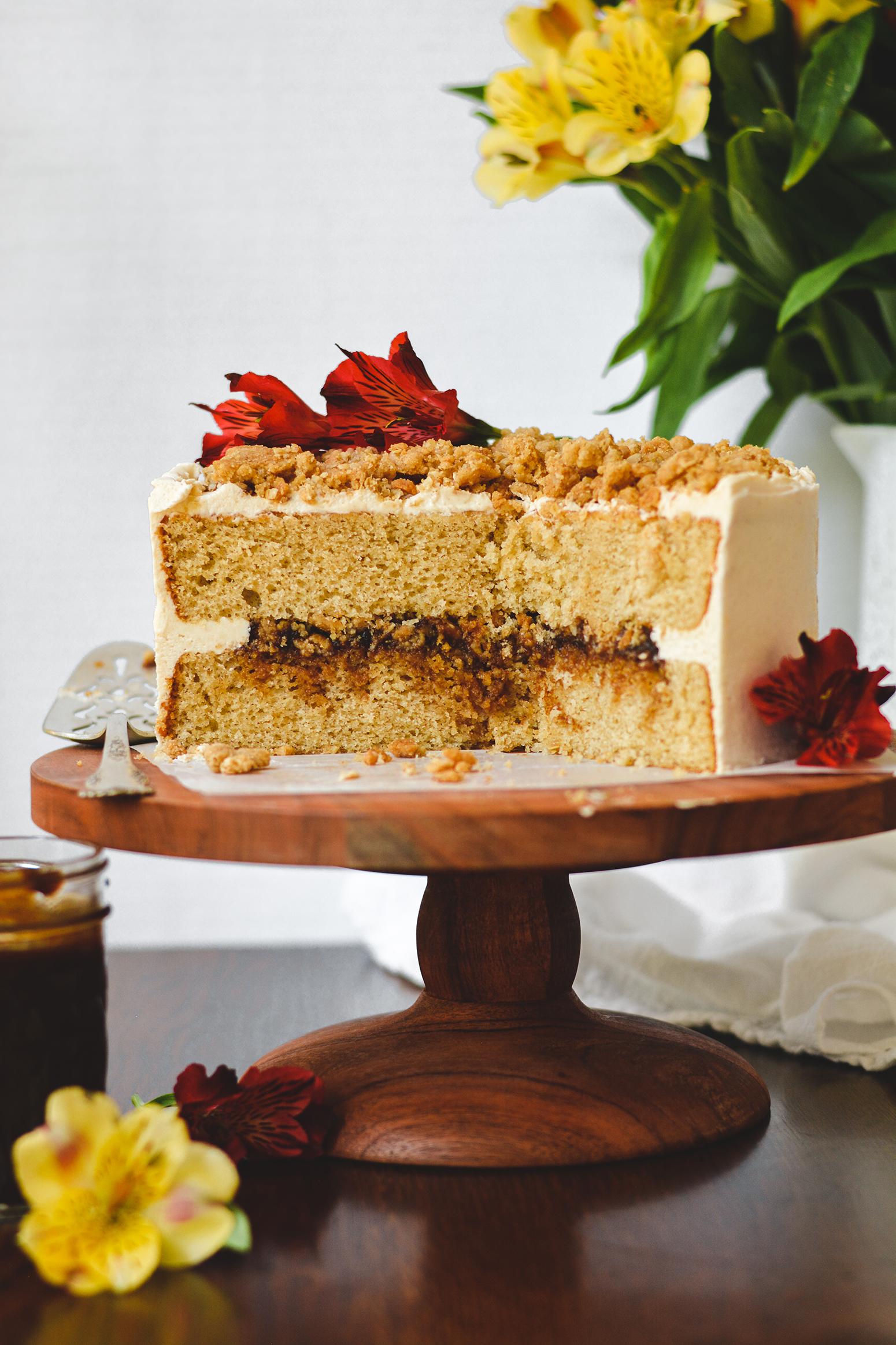 Apple Butter Crumb Cake